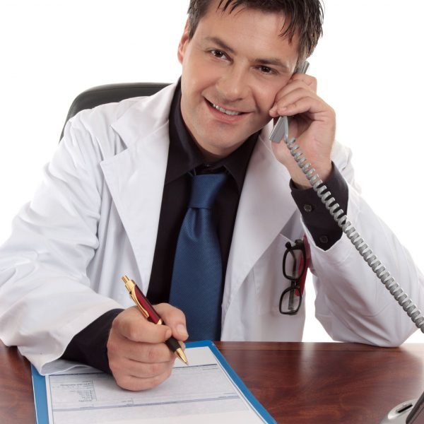 Doctor-on-Phone